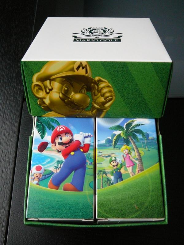 Balles Mario Golf – Club Nintendo France (2014)