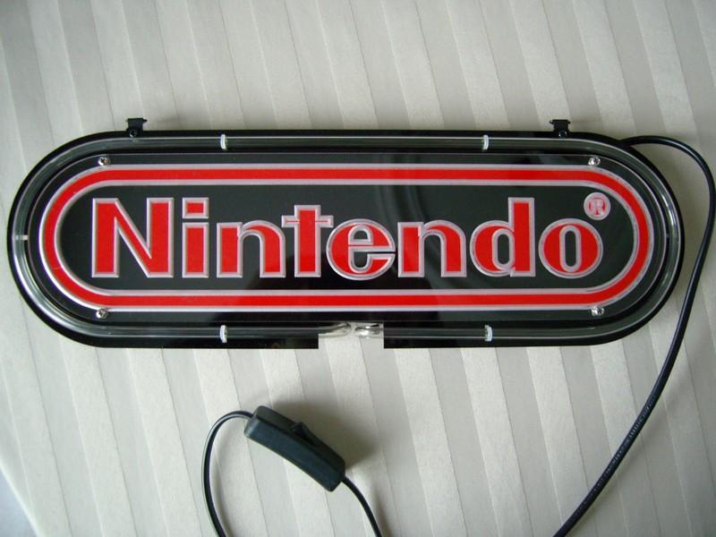 Enseigne lumineuse Nintendo