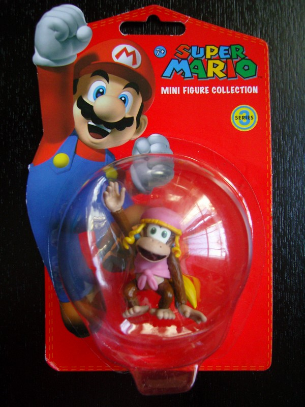 collection figurines Super Mario - série 3 - Dixie Kong