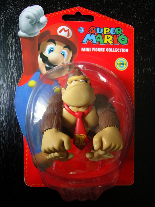 collection figurines Super Mario - série 3 - Donkey Kong