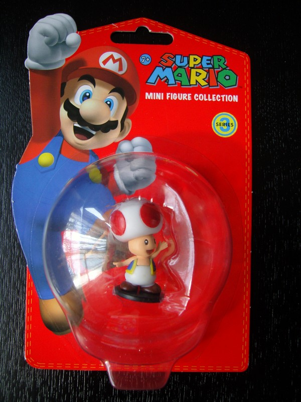 collection figurines Super Mario - série 3 - Toad