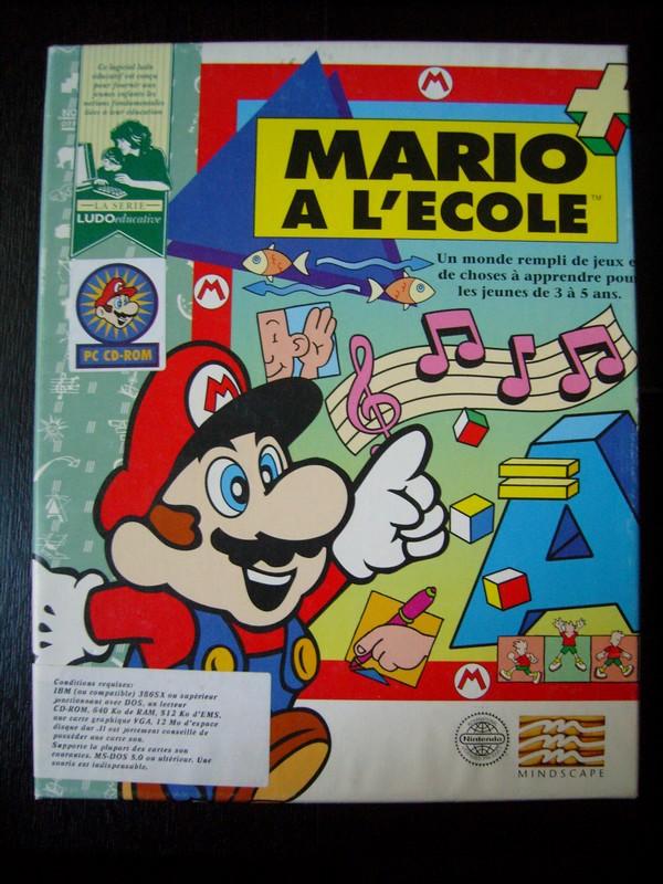 Logiciel PC « Mario A L'Ecole »