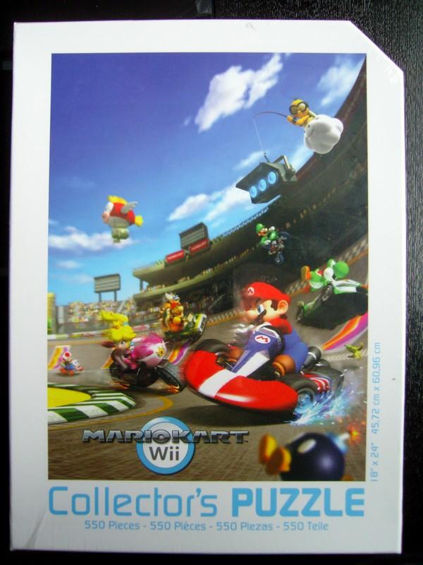 Mario Kar Wii Collector's Puzzle