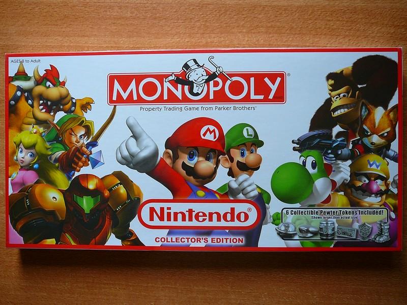 Monopoly Nintendo Collector's Edition