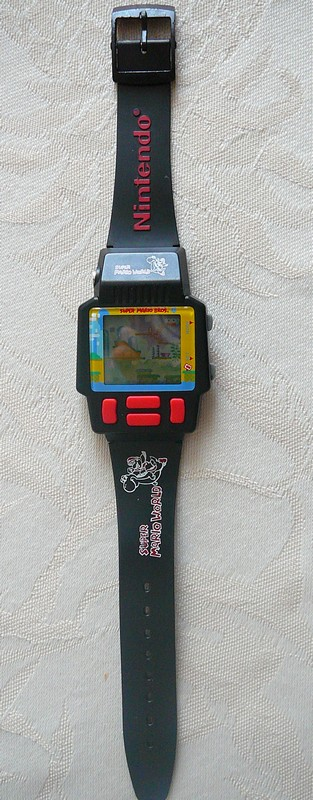 Montre Super Mario World
