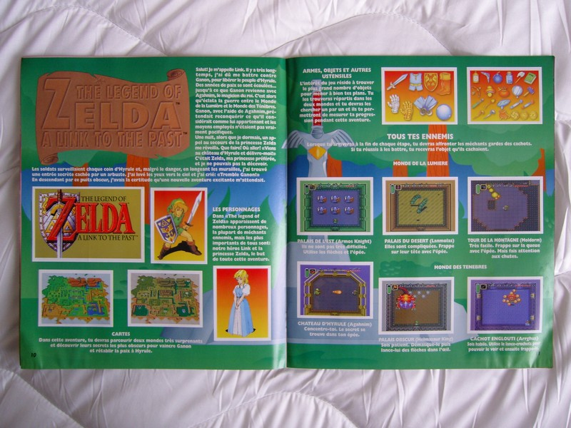 Panini Nintendo - The Legend Of Zelda A Link To The Past