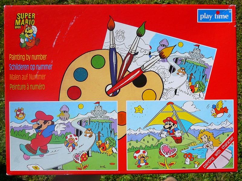 Peinture à Numéro Super Mario Bros