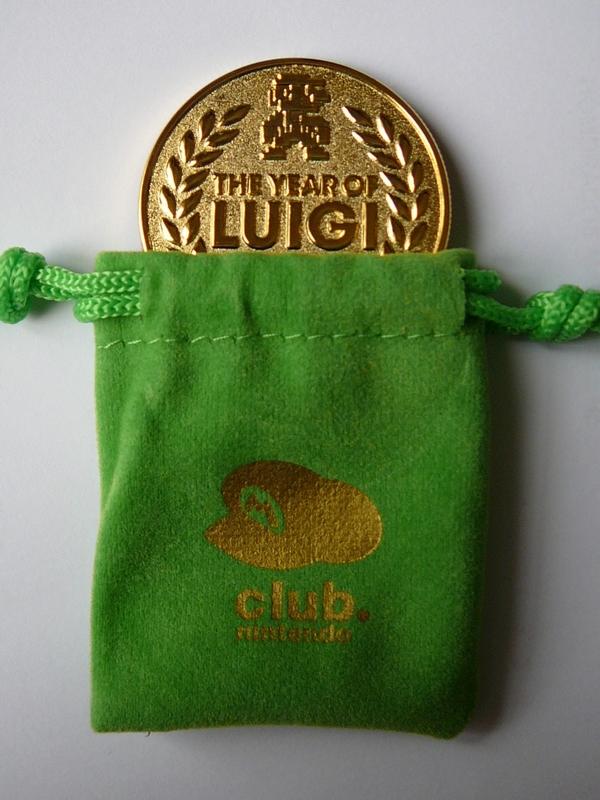 Pièce commémorative 30 ans de Luigi