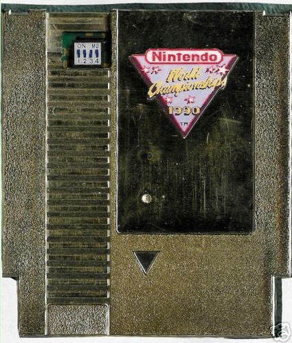 Nintendo World Championships 90' US Gold Cart