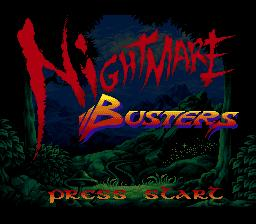 Nightmare Busters in-game