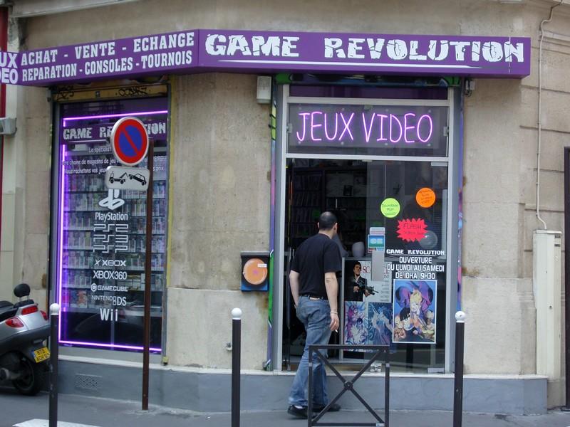 Game Revolution rue de Malte