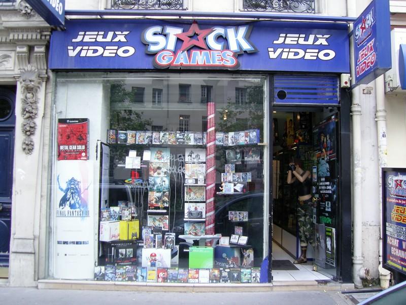 Stock Games rue des Ecoles