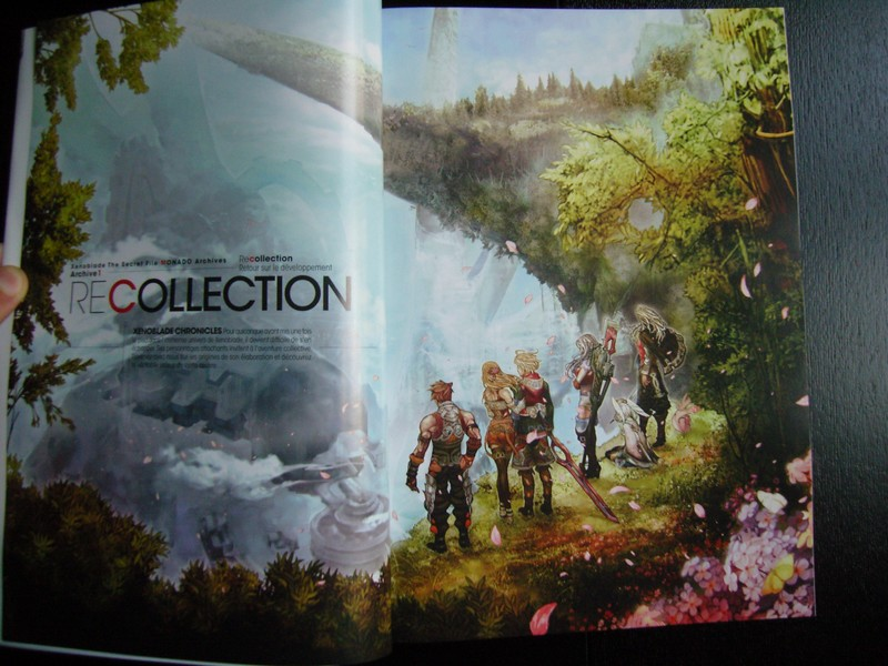 Artbook Xenoblade The Secret File MONADO Archives