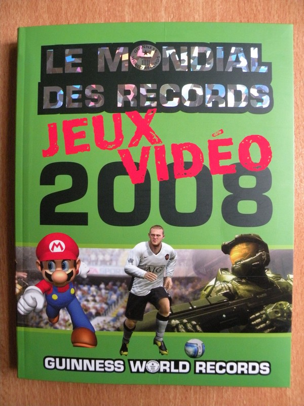 Le Mondial Des Records Jeux Vidéo 2008