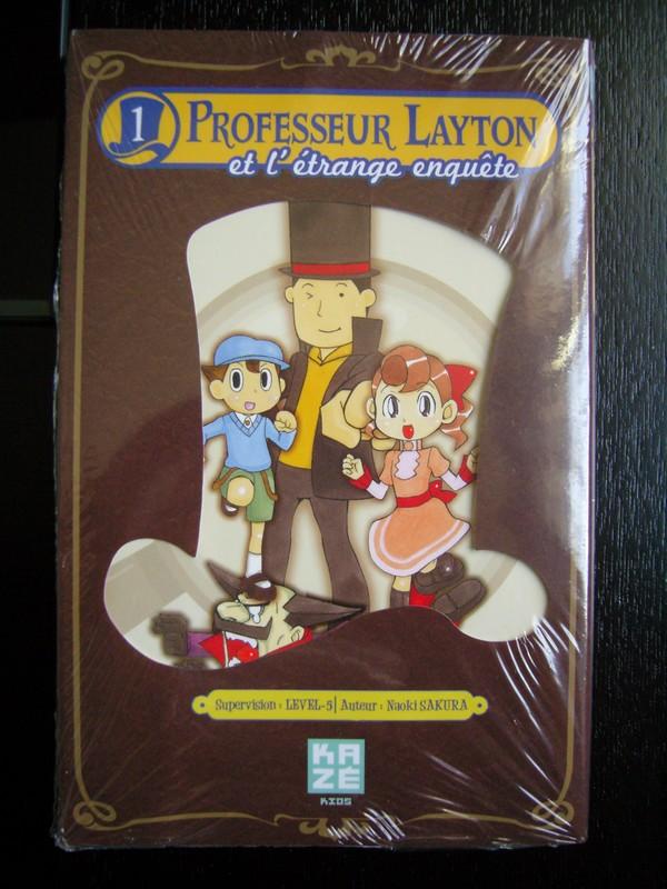 Manga Professeur Layton Et L'Étrange Enquête