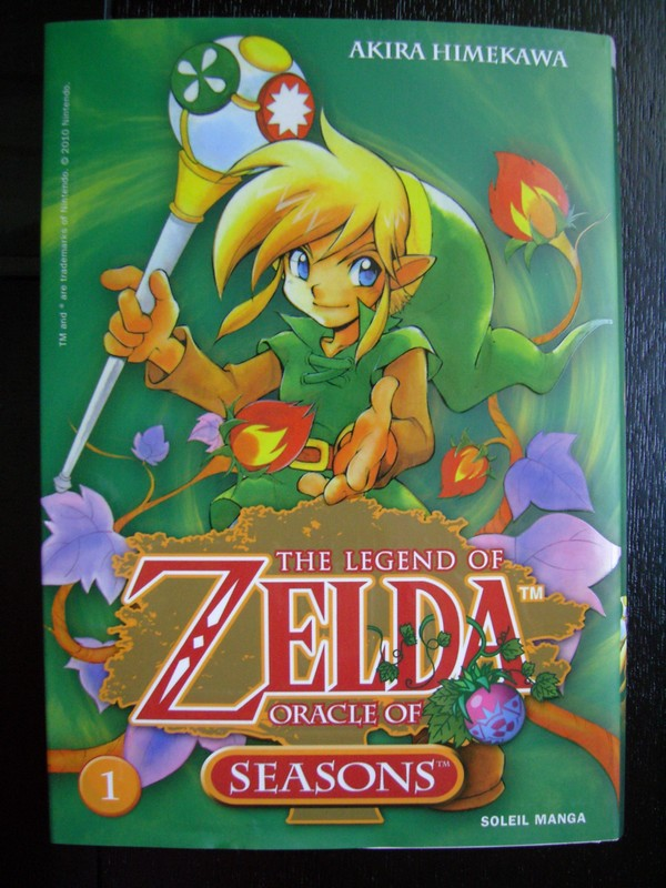 Manga The Legend Of Zelda : Oracle Of Seasons