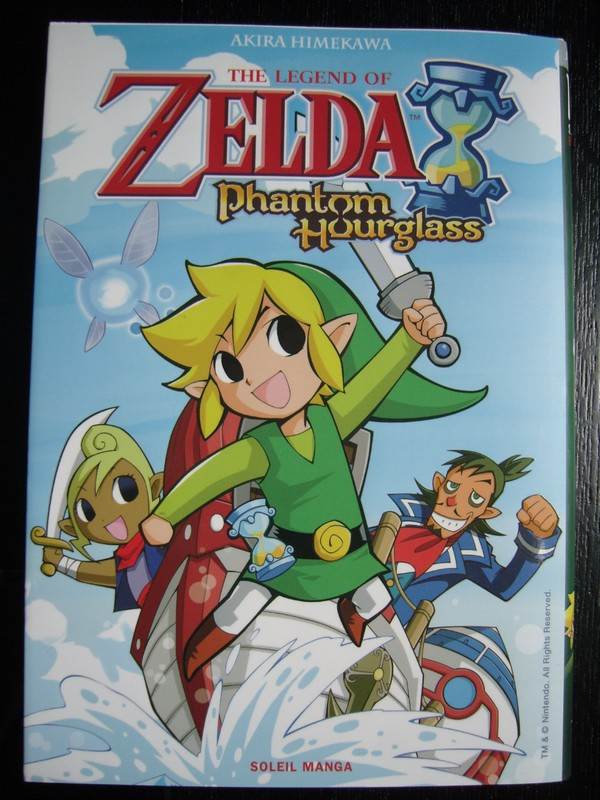 Manga The Legend Of Zelda : Phantom Hourglass