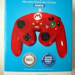 Manette filaire de combat Mario