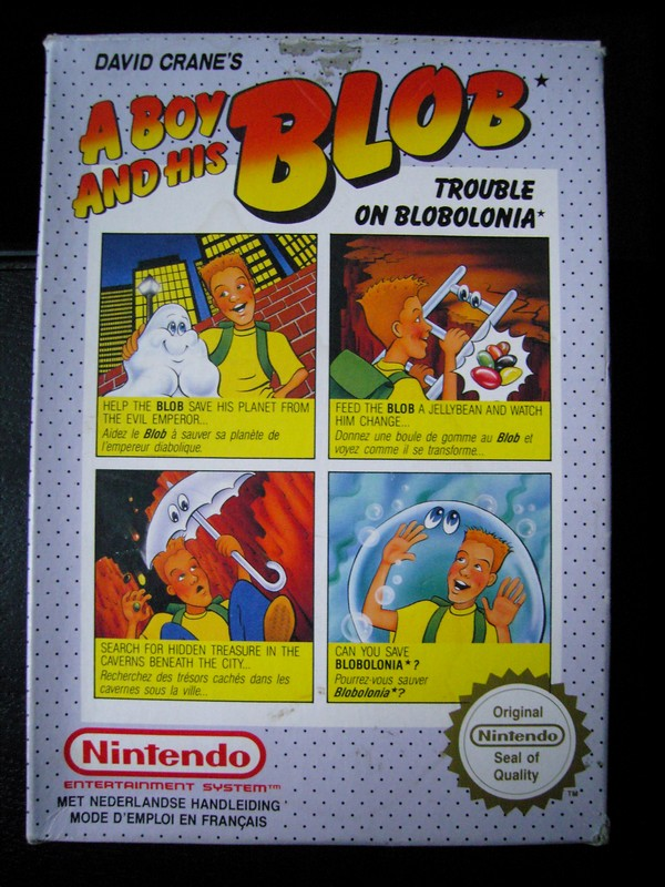 A Boy And His Blob : Trouble On Blobolonia