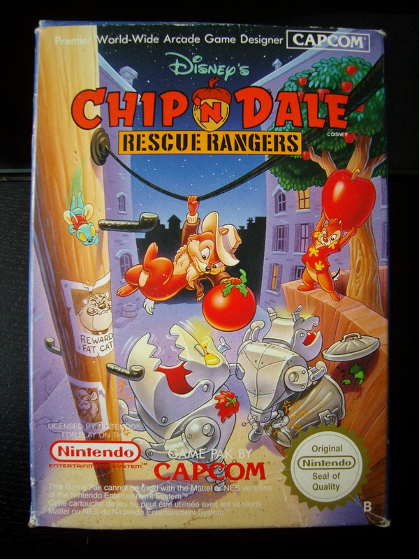 Chip'N Dale Rescue Rangers