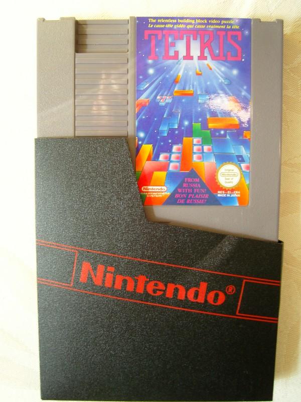 Cartouche Tetris