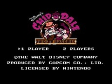 Chip'N Dale Rescue Rangers in-game