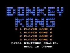 Donkey Kong in-game