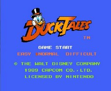 Duck Tales in-game