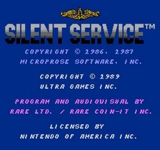 Silent Service in-game