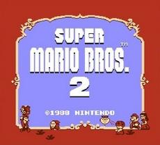 Super Mario Bros. 2 in-game
