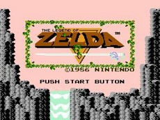 The Legend Of Zelda in-game