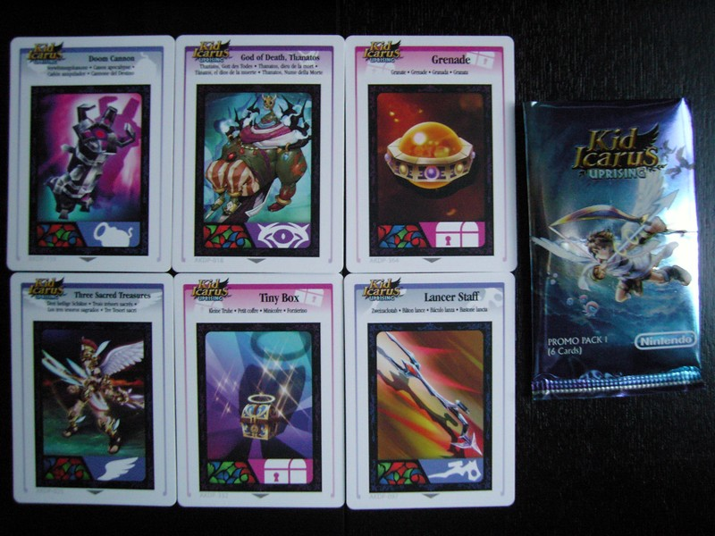Kid Icarus Uprising - Cartes RA