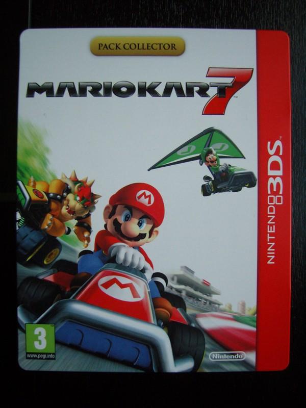 Steelbook Mario Kart 7