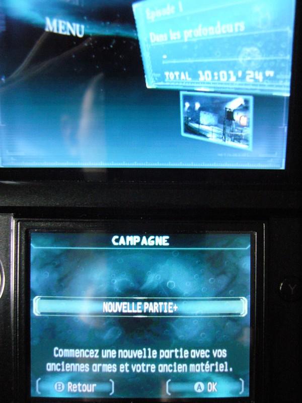 Resident Evil : Revelations jeu terminé