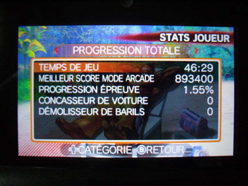 Progression Super Street Fighter IV 3D Edition