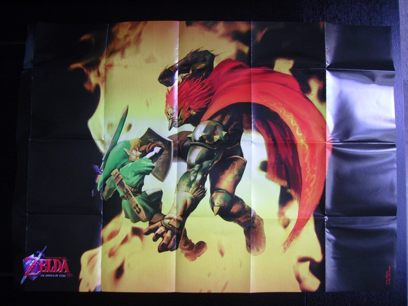 The Legend Of Zelda : Ocarina Of Time 3D Affiche
