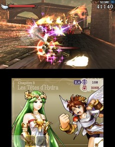 Kid Icarus Uprising in-game