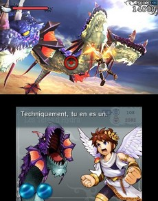 Kid Icarus Uprising in-game
