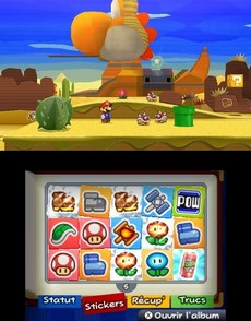 Paper Mario : Sticker Star 2 in-game