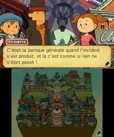 Professeur Layton et Le Masque Des Miracles in-game