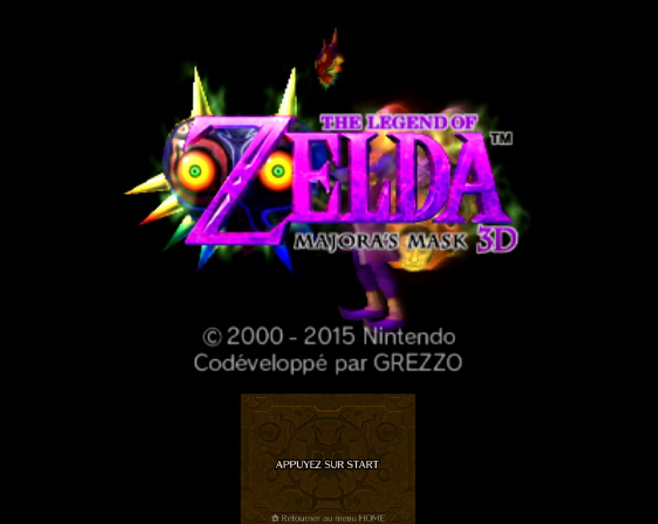 The Legend Of Zelda : Majora's Mask 3D Special Edition in-game
