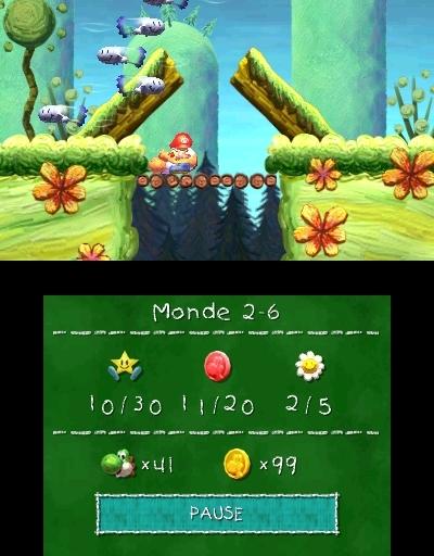 Yoshi's New Island in-game