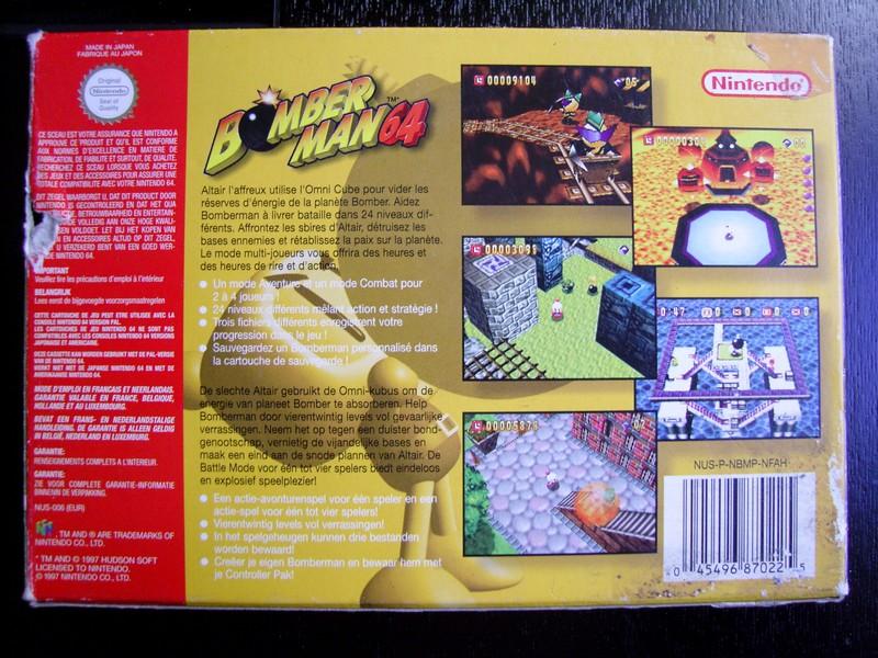 Boîte Bomberman 64