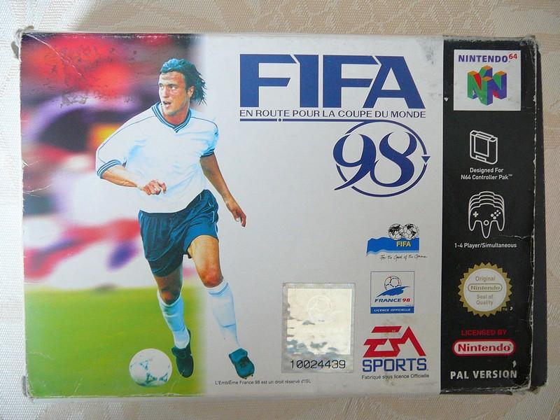 Boîte Fifa 98