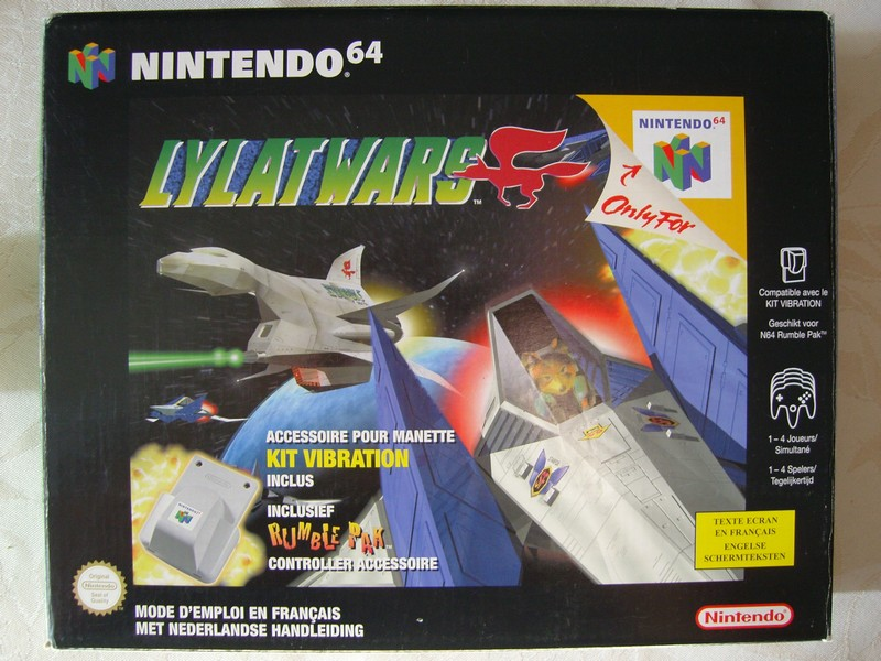 Coffret Lylat Wars