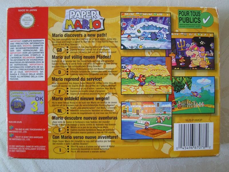 Boîte Paper Mario