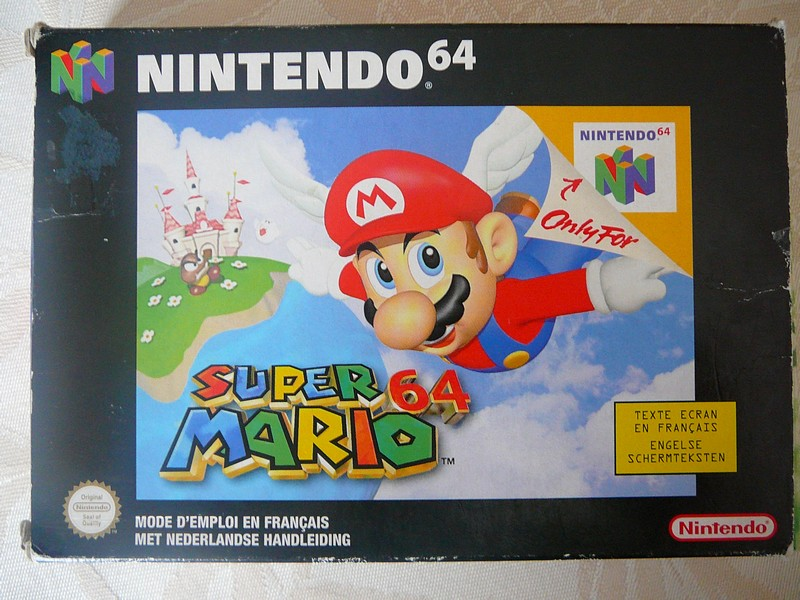 Boîte Super Mario 64