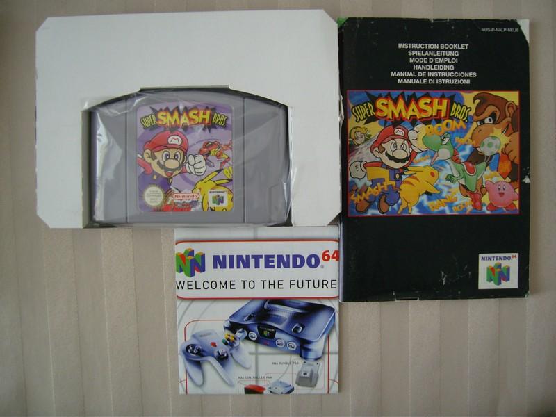Boîte Super Smash Bros