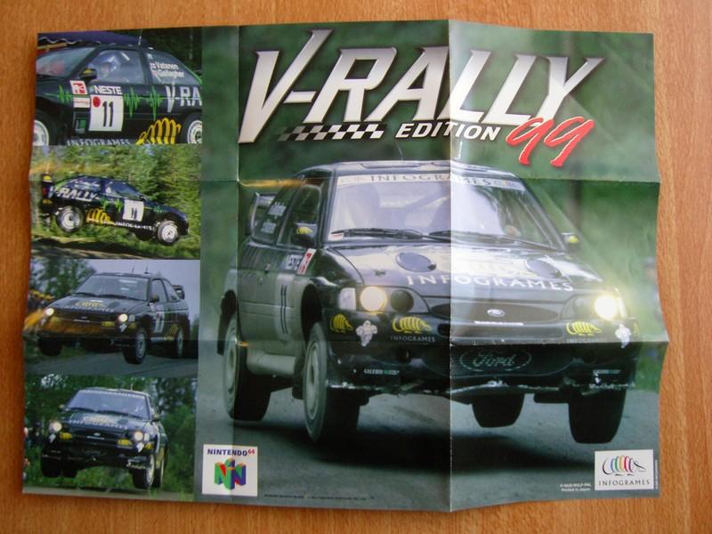 Affiche V-Rally 99