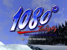 1080° TenEighty Snowboarding in-game